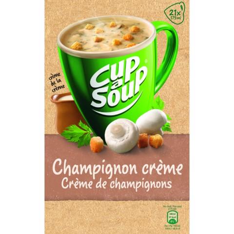 Cup-a-Soup Champignon    doos 4x21x175ml