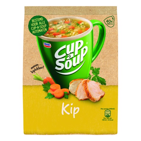 Cup-a-Soup Vending Kip       doos 4x40st
