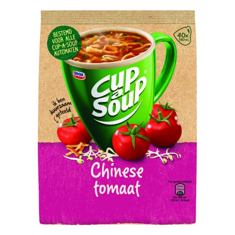Cup-a-Soup Vending Chinese Tomaat doos 4x40st