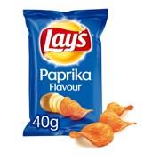 Lays Chips Paprika          doos 20x40gr