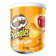 Pringles Paprika            doos 12x40gr