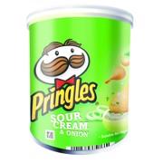 Pringles Sour Cream & Onion doos 12x40gr