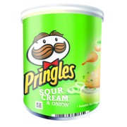 Pringles Sour Cream & Onion doos 12x40gr