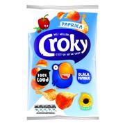 Croky Chips Paprika         doos 20x40gr