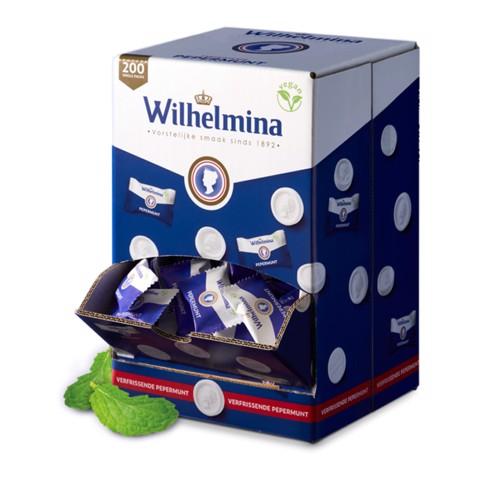 Wilhelmina Pepermunt per stuk verpakt silo 200st