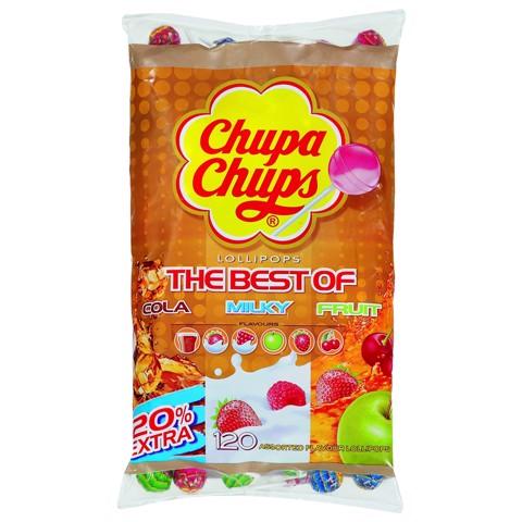 Chupa Chups Best Assorti Lollies zak 120st