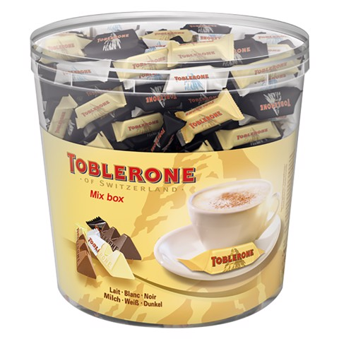 Toblerone Horecamixbox per stuk verpakt silo 904gr