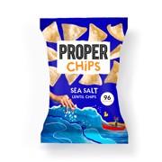Proper Corn Lightly Sea Salted Popcorn  doos 12x20gr