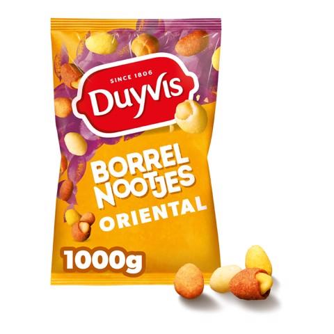 Duyvis Borrelnoten Oriental       zak 1,0kg