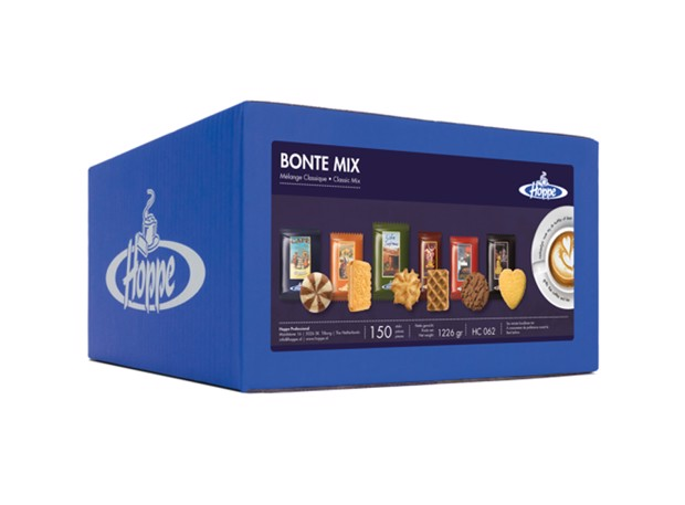 Hoppe Bonte Mix 6 soorten doos 150st