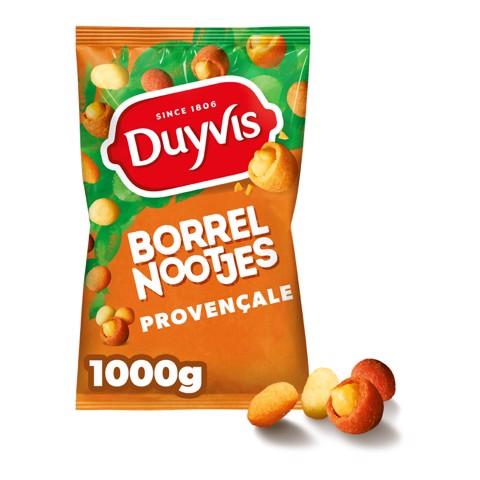 Duyvis Borrelnoten Provencale     zak 1,0kg