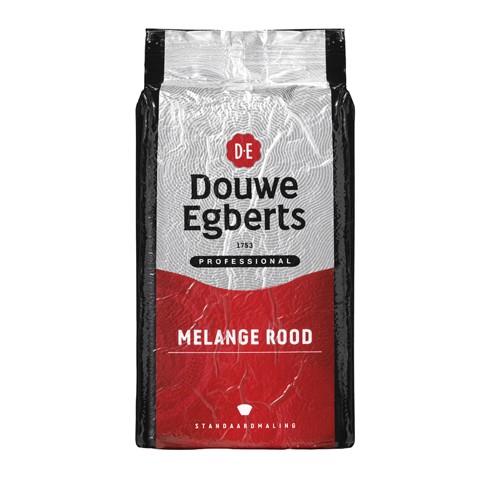 Douwe Egberts Melange Rood Standaard tray 6x1kg