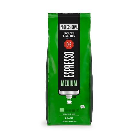 Douwe Egberts Espresso Medium Roast   doos 6x1,0kg
