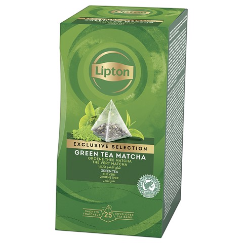 Lipton Exclusive Selection Green Tea Matcha 25st