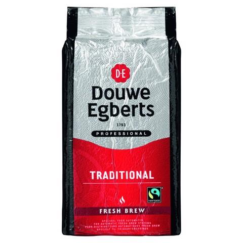 Douwe Egberts Fresh Brew Tradition    doos 6x1,0kg