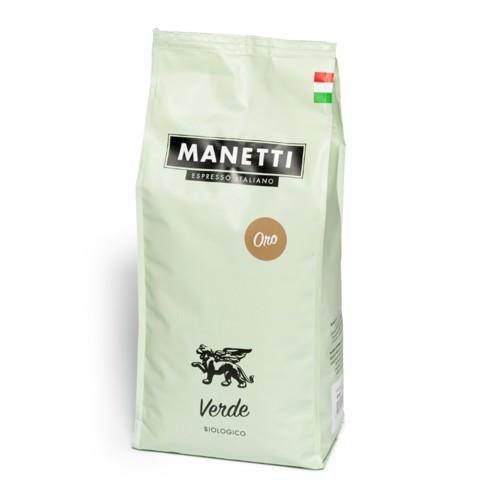Manetti Verde ORO Koffiebonen doos 8x1,0kg