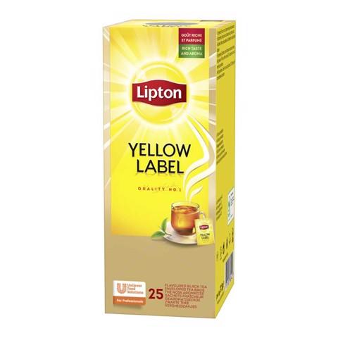 Lipton Feel Good Selection Yellow Label  doos 25st