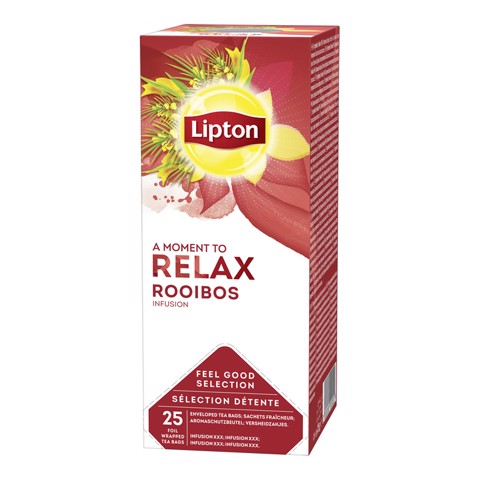 Lipton Feel Good Selection Rooibos doos 25st