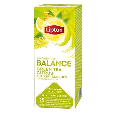 Lipton Feel Good Selection Green Tea Citrus doos 25st