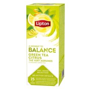 Lipton Feel Good Selection Green Tea Citrus doos 25st