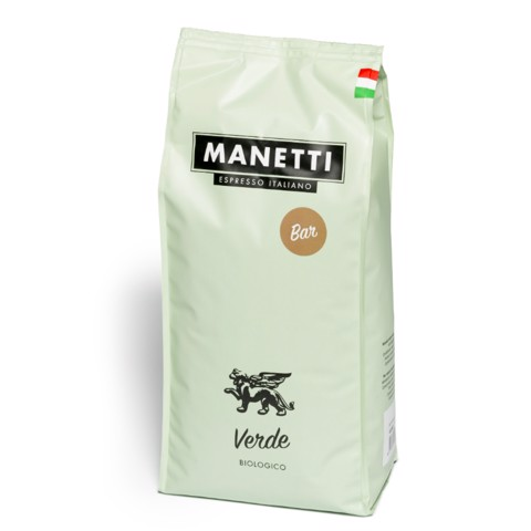 Manetti Verde BAR Koffiebonen   doos 8x1,0kg