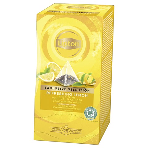 Lipton Exclusive Selection Lemon doos 25st