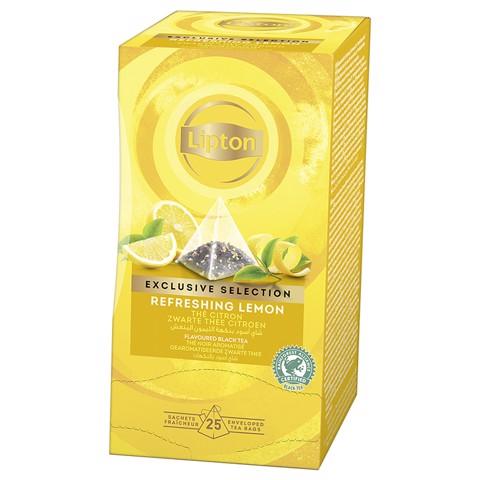 Lipton Exclusive Selection Lemon doos 25st