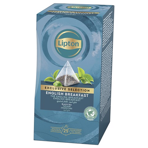 Lipton Exclusive Selection English  doos 25st