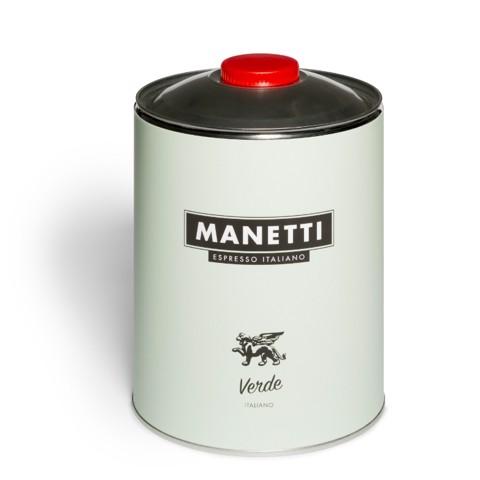 Manetti Verde BAR Koffiebonen  blik doos 2x3,0kg