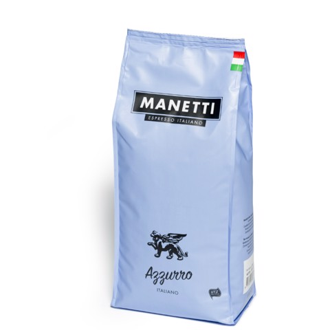 Manetti Azzurro Koffiebonen   doos 8x1,0kg