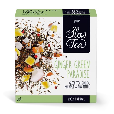 Pickwick Slow Tea Green Ginger Paradise doos 25st