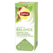 Lipton Feel Good Selection Green Tea Red Berries ds 25st