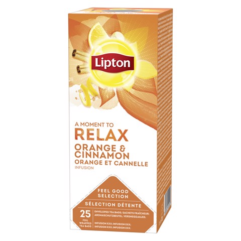 Lipton Feel Good Selection Orange & Cinnamon doos 25st