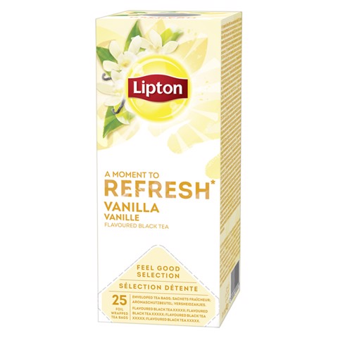 Lipton Feel Good Selection Vanilla doos 25st