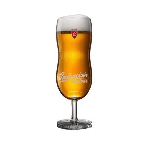 Budweiser Budvar Glas 30cl      doos 6st