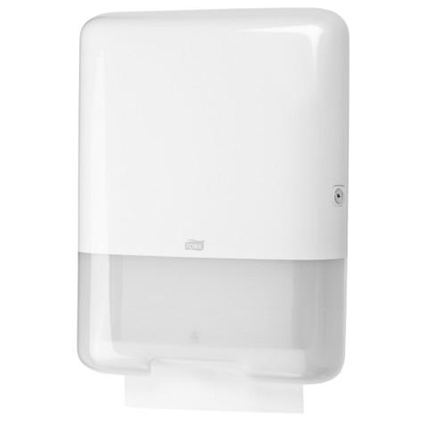 Tork H3 Z/C-Vouw Handdoek Dispenser Wit per stuk