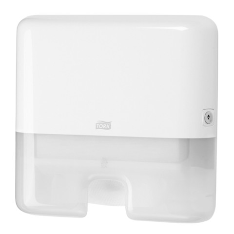 Tork H2 Xpress Mini Handddoek Dispenser Wit p/st
