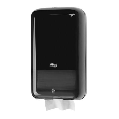 Tork T3 Gevouwen Toiletpapier Dispenser Zwart st