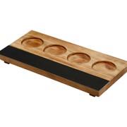 Bar Professional Proefplank 16x30cm Hout    per stuk