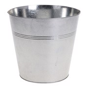Terras Bucket Zink Rond 21cm    per stuk
