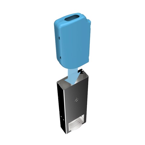 Sanifox Desinfectie Muurdispenser RVS per stuk