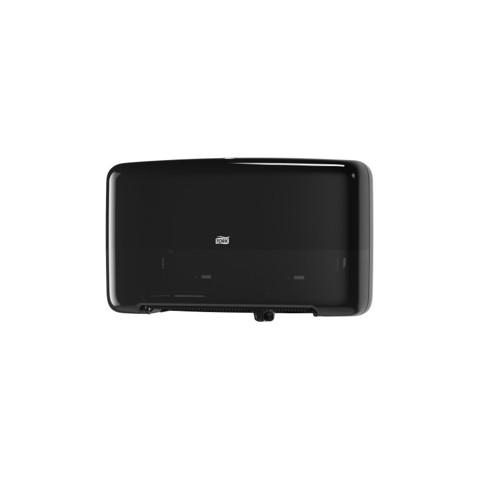 Tork T2 Twin Mini Jumbo Toilet Dispenser Zwart per stuk