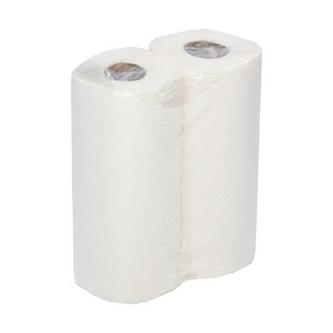 Keukenpapier 2-laags Wit        pak 24st