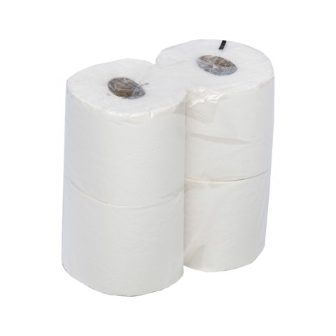 Toiletpapier Traditioneel 2-l 198 v Wit pak 48st