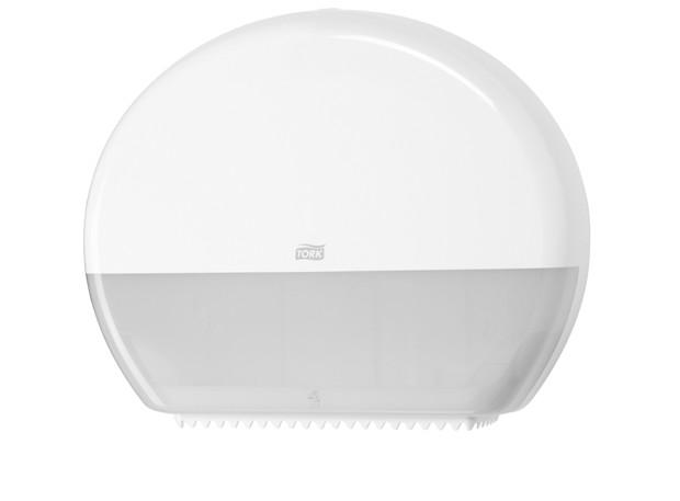 Tork T1 Jumbo Toiletpapier Dispenser Wit per stuk