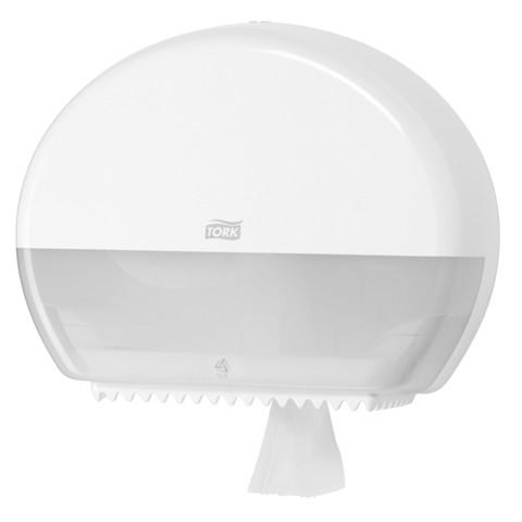 Tork T2 Mini Jumbo Toiletpapier Dispenser Wit st