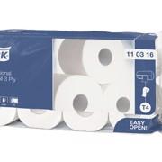 Tork T4 Tradit Toiletpapier 2-l Wit 198 v pak 48st