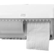 Tork T4 Traditioneel Toiletpapier Dispenser Wit st