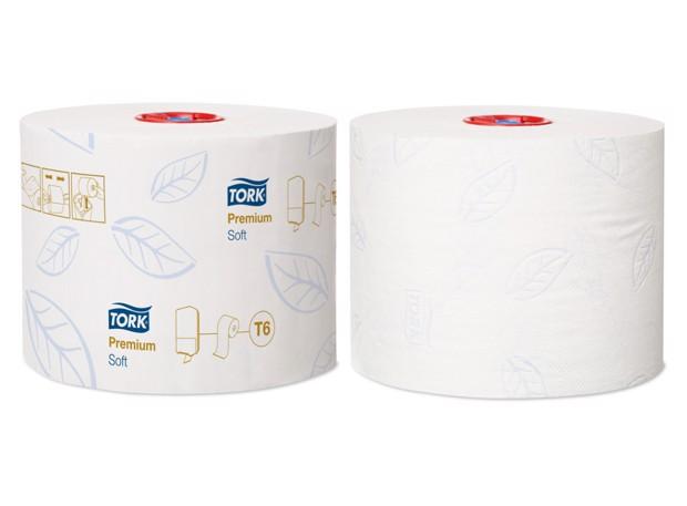 Tork T6 Twin Zacht MS Toiletpapier 2-l pak 27st