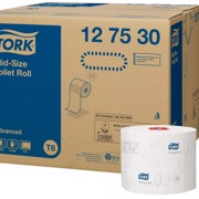 Tork T6 Twin MS Toiletpapier 2-laags Wit pak 27st
